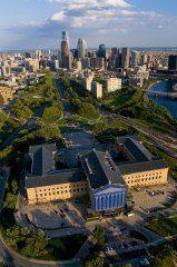 Interesting view of Philly skyline, Pennsylvania