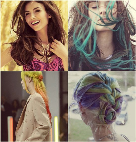 Greet Summer With Fascinating Dyed Hair Extensions Hair