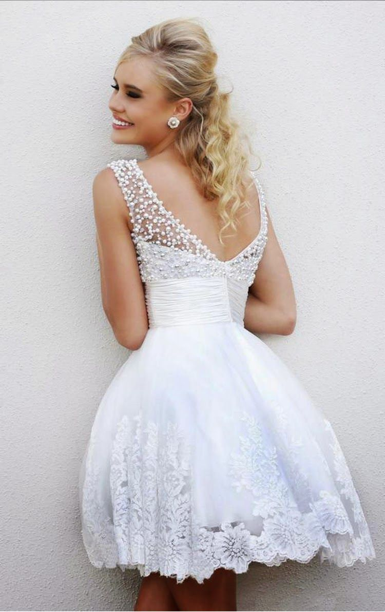 Sherri Hill 4302 Ivory Two Straps Homecoming Dress
