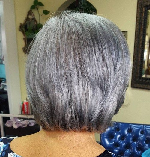 65 Gorgeous Gray Hair Styles mit Bildern   Graue ...