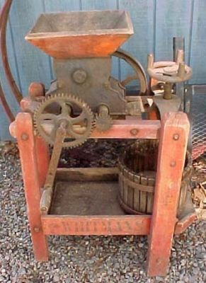 Cider Press For Sale >> Want This Antique Cider Press Past Perfect Apple Cider Press