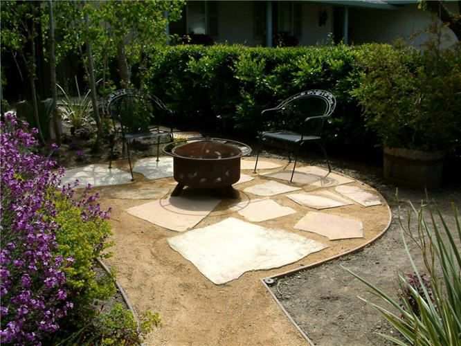 DG and flagstone patio | Outdoor Projects | Pinterest ...