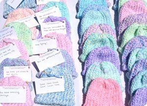3aca7c903 Precious Preemie Project: Free Knit Premature baby hat patterns ...