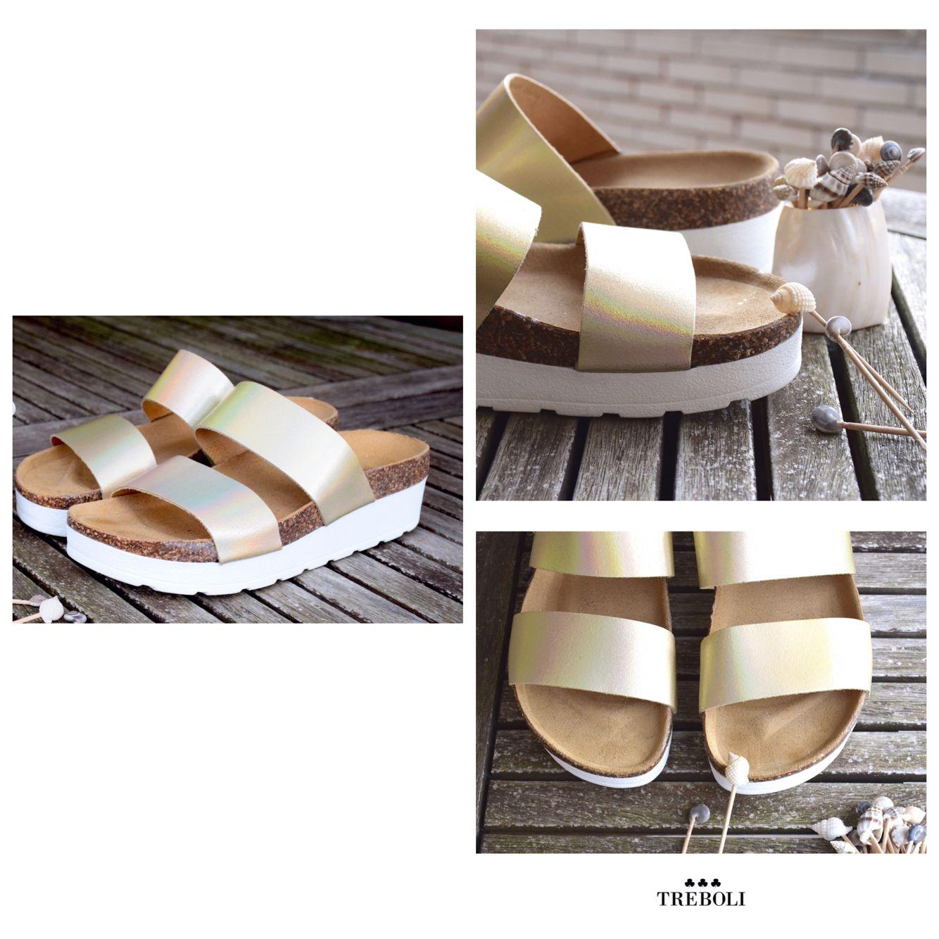 new product d26d1 e8e32 Sandalias doradas de suela blanca Sandalias Doradas, Calzado, Tacones,  Blanco