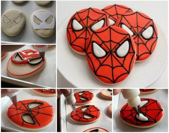 Clinker Truffles Recipe More Spiderman cookies and Spiderman ideas