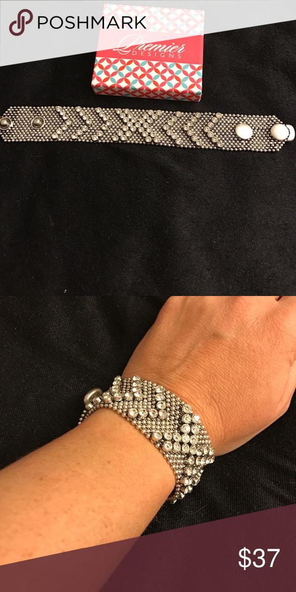 Premier designs make a scene bracelet Designer jewelry Bracelets