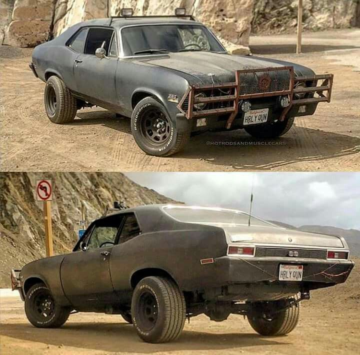 Image result for post apocalyptic chevy nova