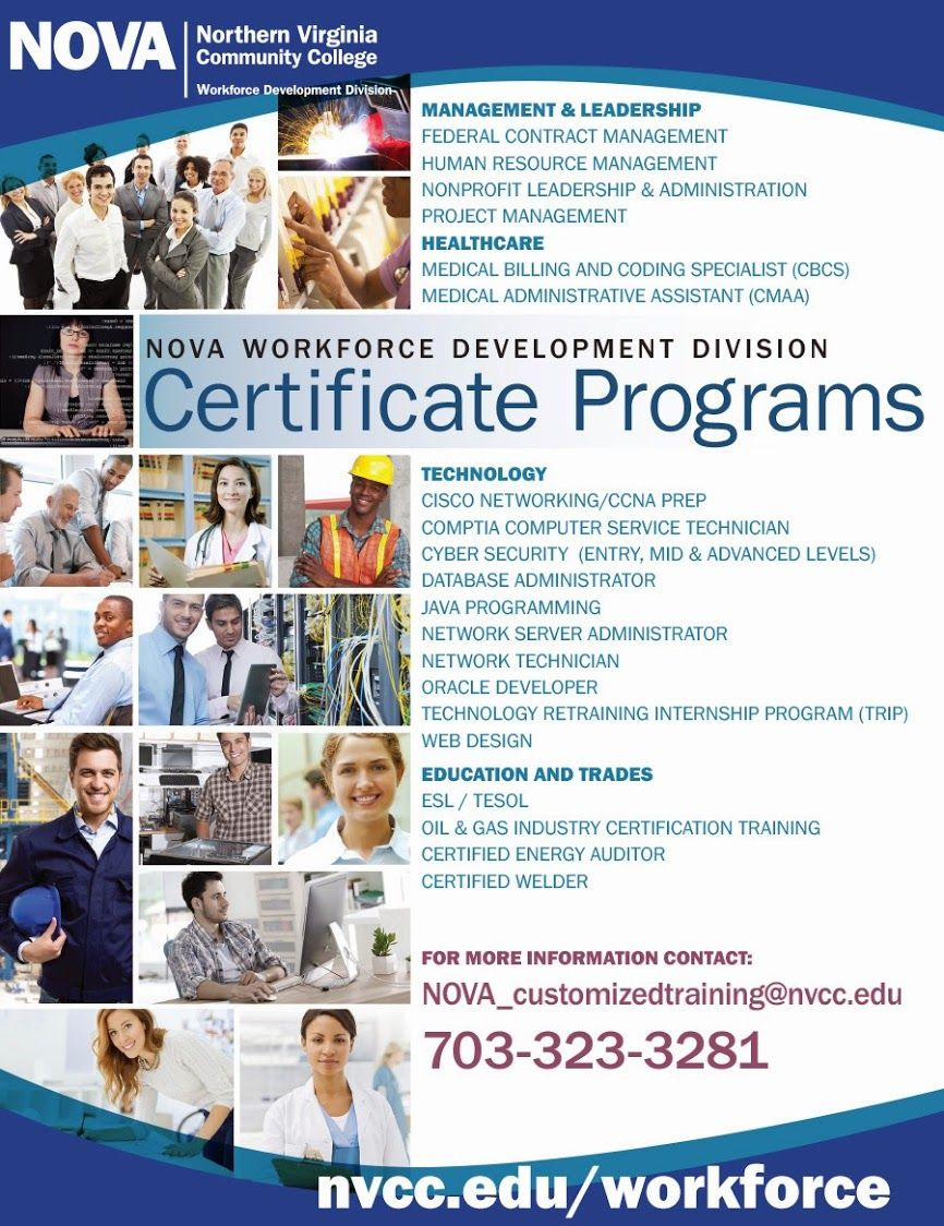 Nova S Workforce Development Division Offers Training And