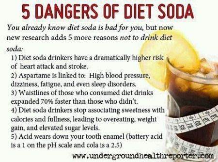 diet soda dangerous health risks