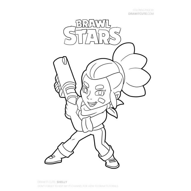 Brawl Stars Brawl Stars Shelly Shelly Brawl Stars Brawl Stars Tips