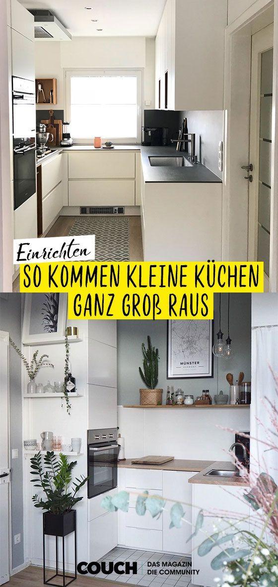Einrichtungsideen für kleine Küchen in 2020 (With images