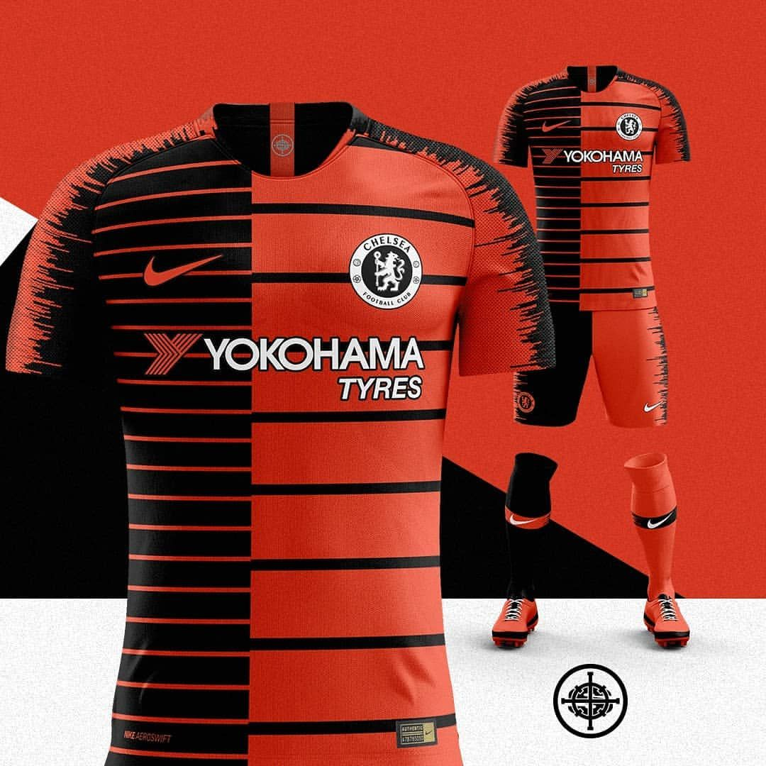 Hedendaags Nike x Kenzo 2018/19 Third Kit for Chelsea 🔥⚽️ | Camisetas GT-14