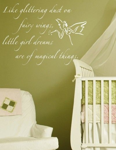 Fairy Dust Wall Decal This Would Be