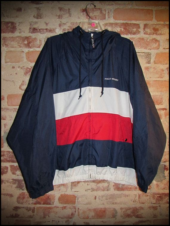 Vintage 90's Ralph Lauren Polo Sport Windbreaker Jacket by ...