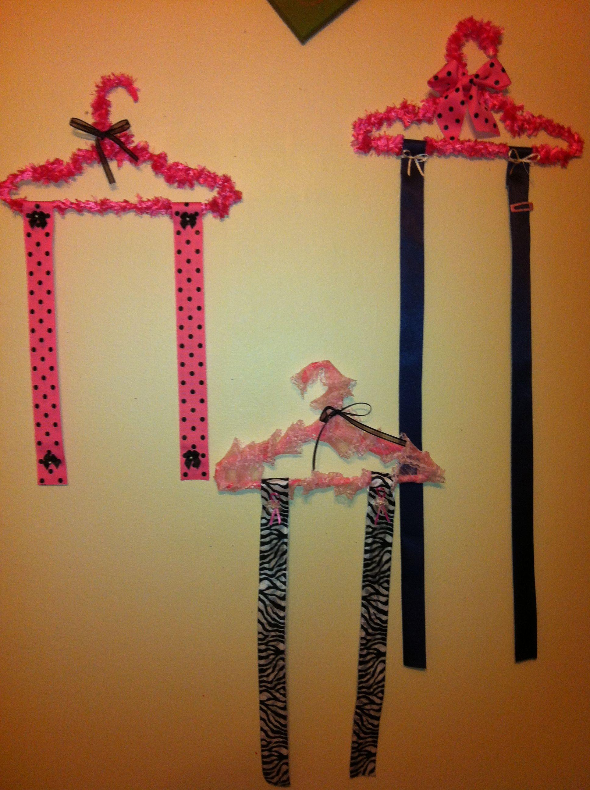 little girls bow holder diy