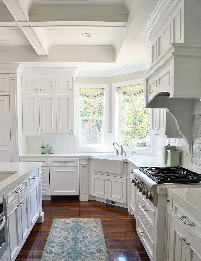 Best kitchen layout corner sink designs (39 Best kitchen