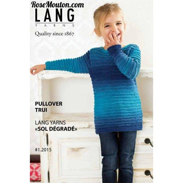 modele tricot gratuit lang yarns