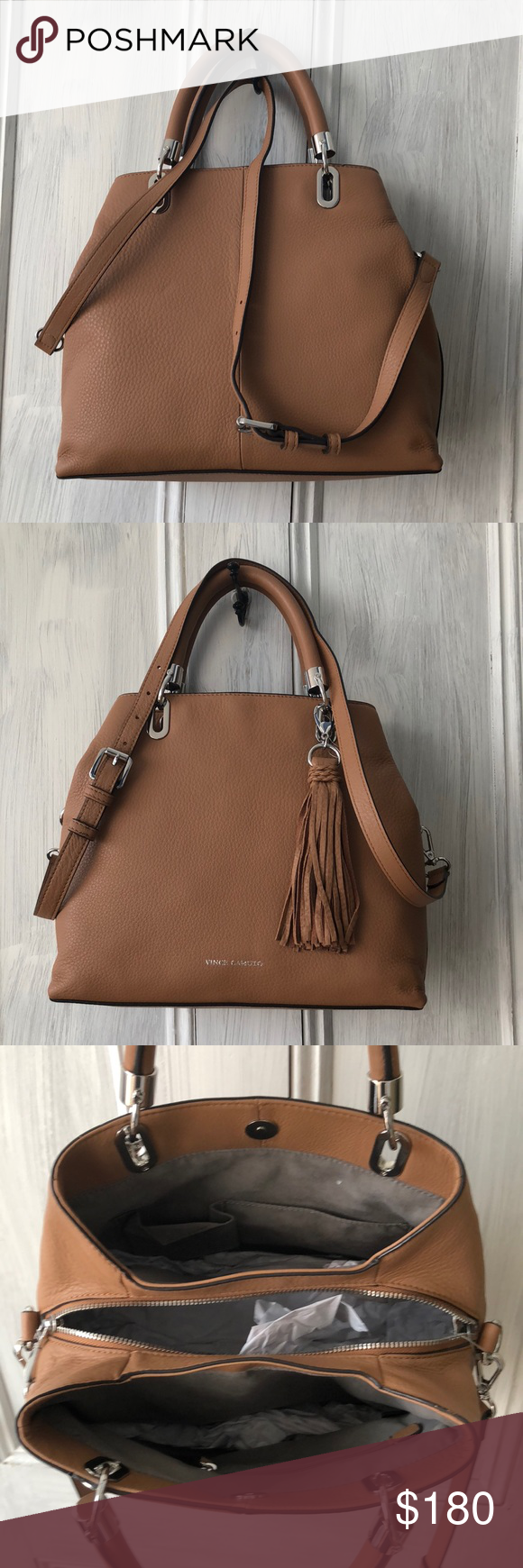 fe9962afd New Authentic Vince Camuto Elva small satchel Wow is all we have to say for  the elva satchel this season. With loaded compartments, light weight feel,  ...