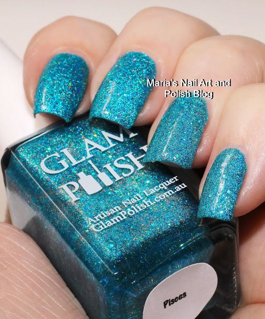 Marias Nail Art and Polish Blog: Glam Polish Pisces swatches ...