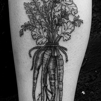 Gristle Tattoo photos Vegetable tattoo, Tattoos, Body
