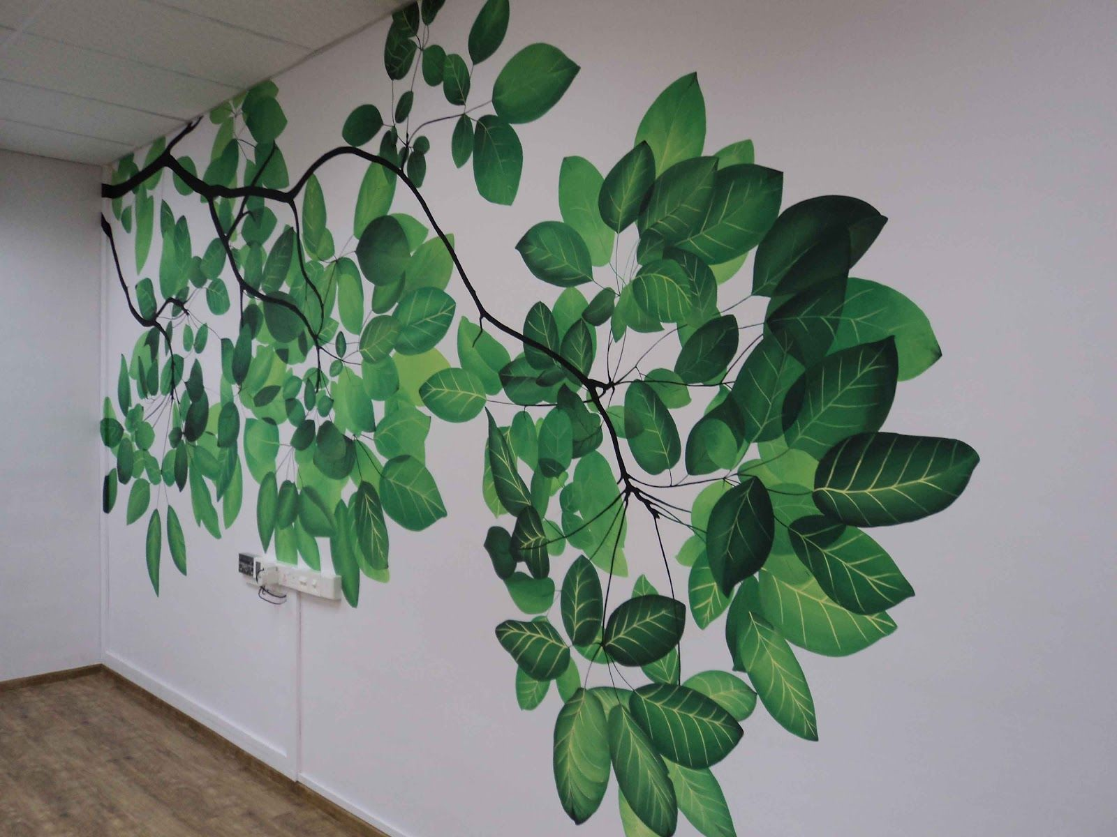 Livingwithart Singapore Realistic Natural Theme Wall Mural Wall