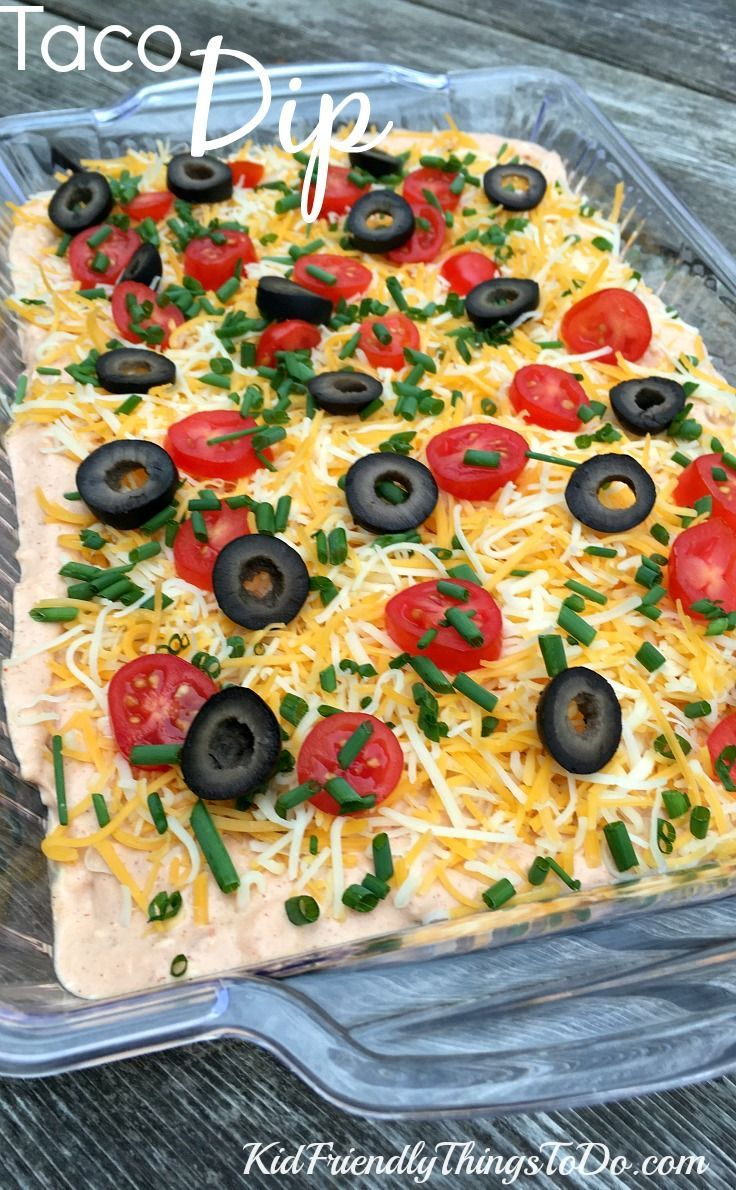 Easy Peasy Taco Dip Recipe Taco dip, Food, Appetizer