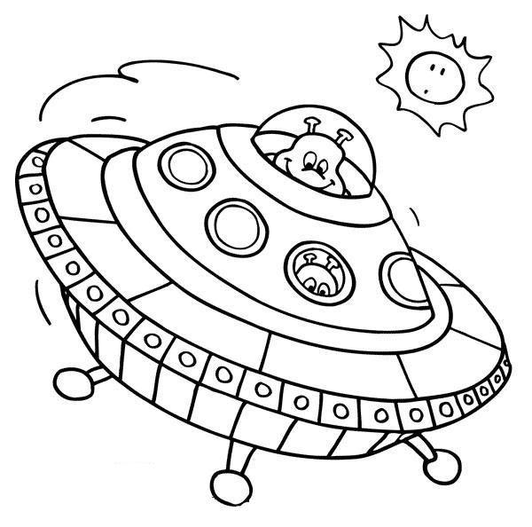 Dibujos De Naves Extraterrestres Para Colorear Dibujos Colores Extraterrestres