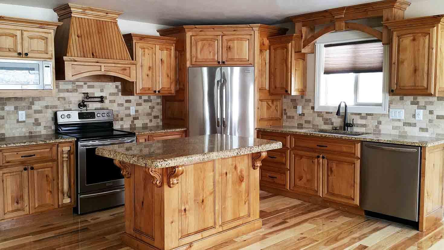 Image Result For Kitchens With Fridge In Corner Home Design