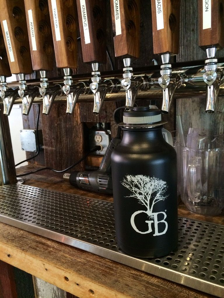 gb tree icon hydro flask growler functional design pinterest