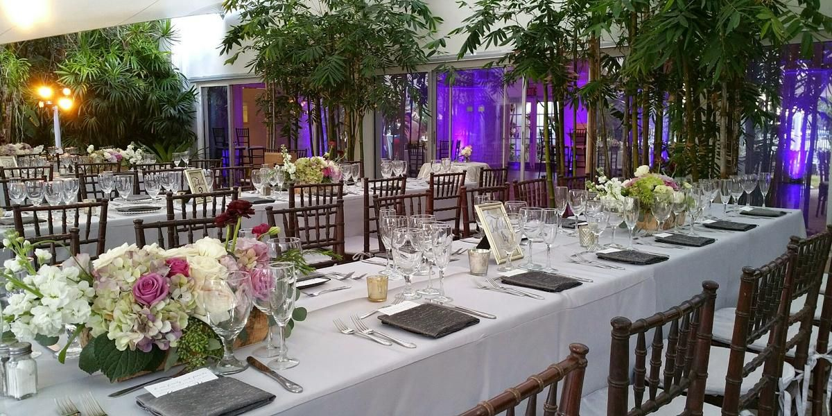 Miami Beach Botanical Gardens Weddings Get Prices for