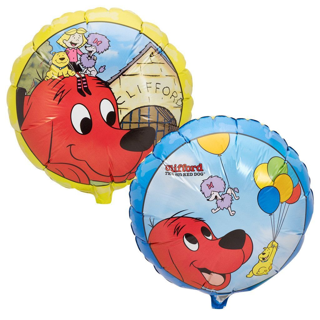 Clifford The Big Red Dog Foil Balloon | Red dog and Foil ...