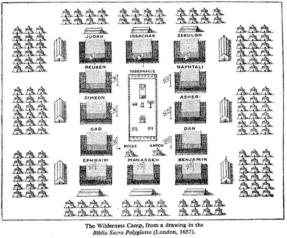 Israelites camp