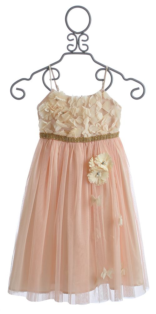 Le Pink Girls Special Occasion Dress $102.00 | modelagem feminino ...