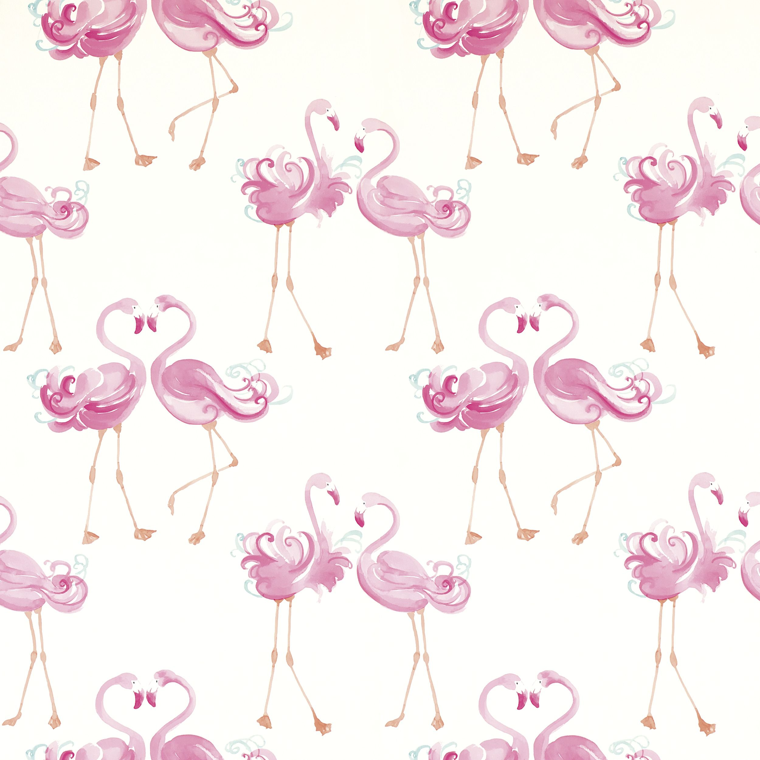 Background flamingo flamingos iphone wallpaper wallpaper - Pretty Flamingo Wallpaper At Laura Ashley I D So Put This Is A Loo Or