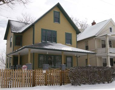 Travel Inspiration   Christmas story house, Famous houses, Movie locations
