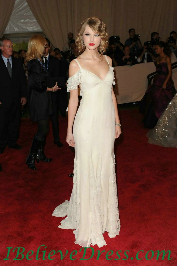 Sexy Chiffon Taylor Swift White Evening Gowns In American Woman Fashioning National,Sexy Chiffon Taylor Swift White Evening Gowns In American Woman Fashioning National