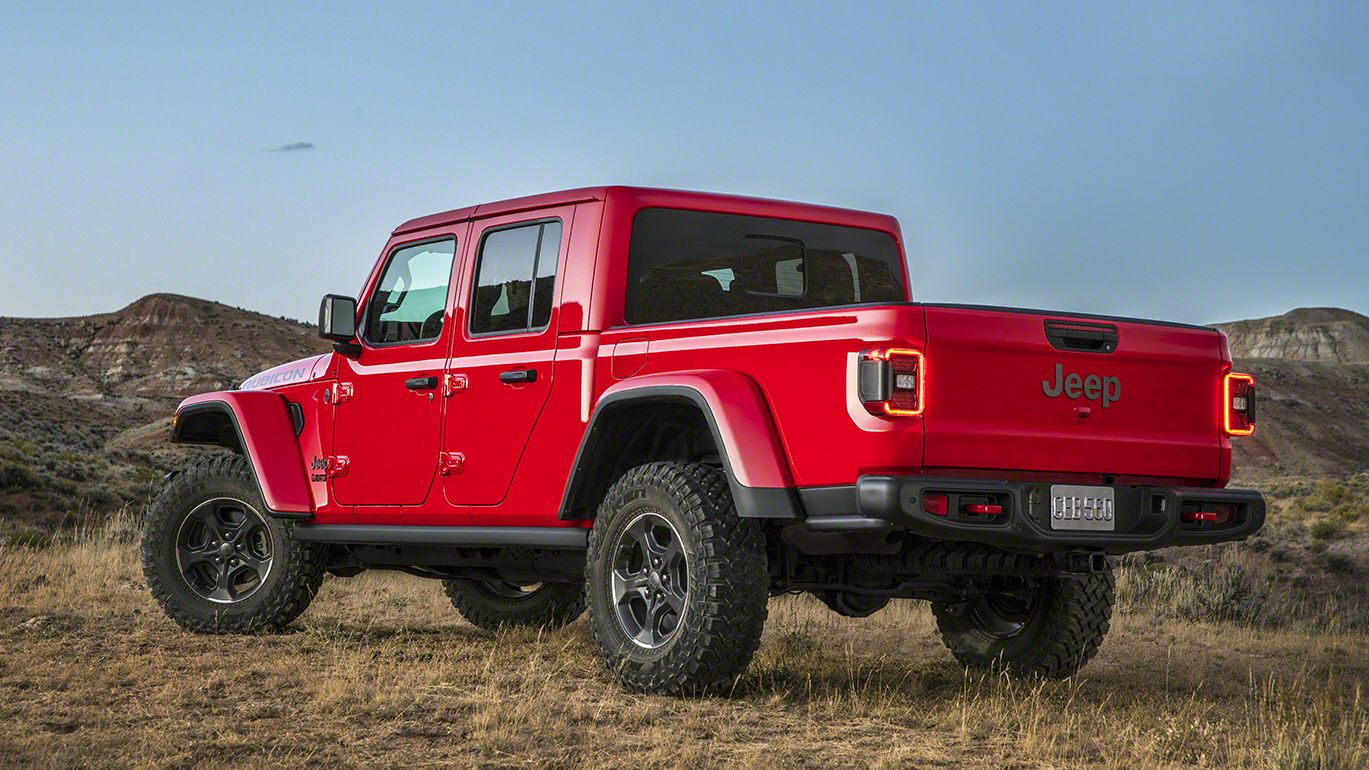 2020 Jeep Gladiator skipped the Scrambler name for a