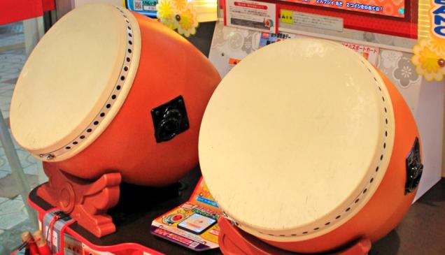 Japan Import 1//12 scale plastic kit arcade cabinet founder Taiko Drum Master