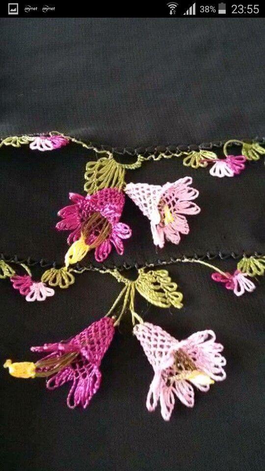 Pin By Elif Yıldırım On Iğne Oyası Pinterest Flower Crafts