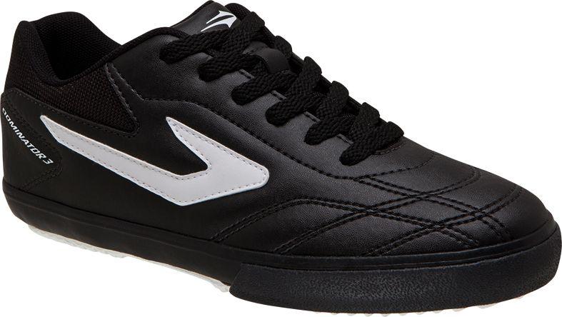 980a330e69 Tênis Topper Futsal Dominator III Adulto Preto e Branco