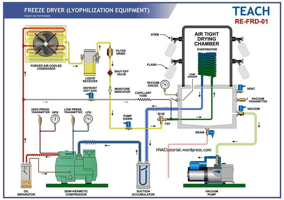 Pin By Student On Cooling Refrigeration And Air Conditioning Hvac Repair Vacuum Pump