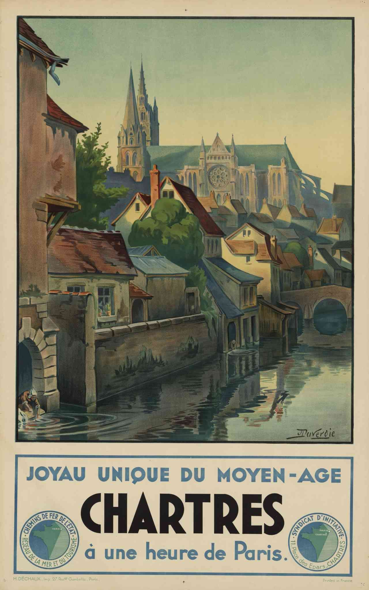 Vintage French Railways Metz Tourism Poster Print A3//A4
