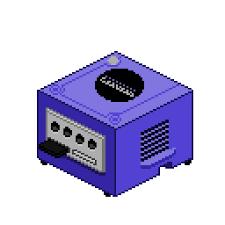 Pastel Gamecube Pixel Art Pixel Gamecube