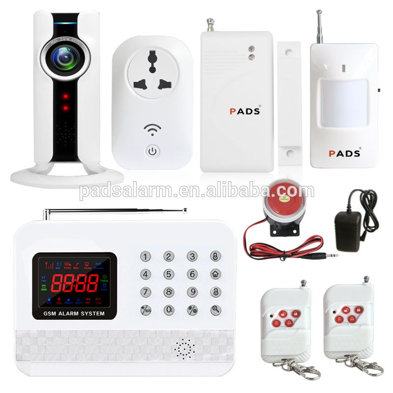 PADS G61 IOS/Android APP Control HD Wifi Camera Monitoring