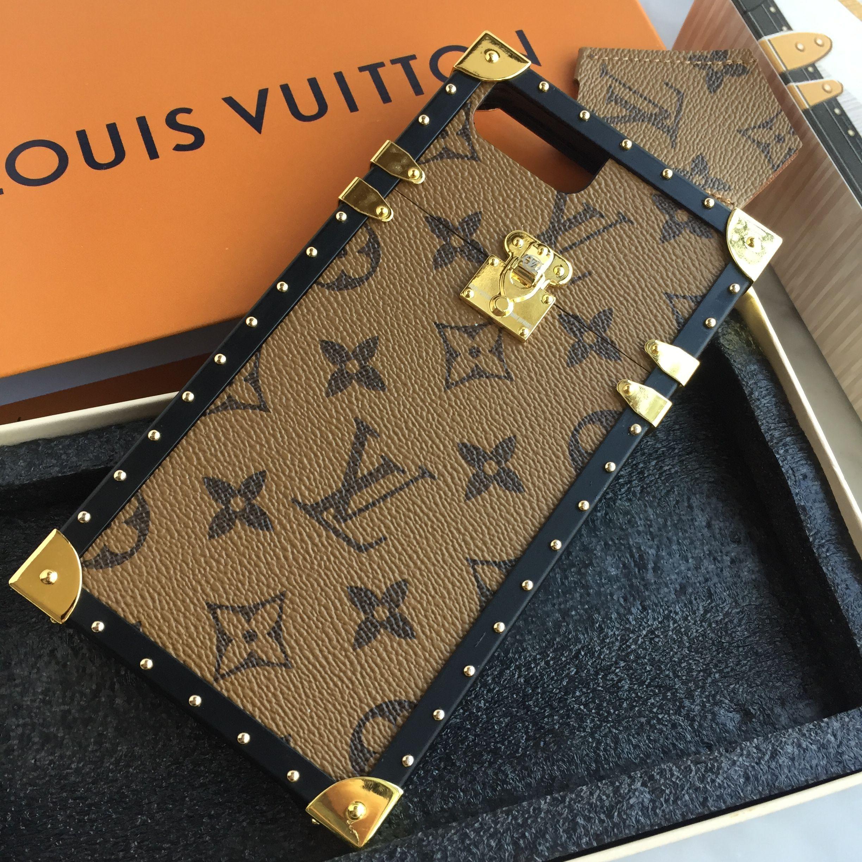 Louis Vuitton Lv phone case light brown monogram   Mobiles   Iphone ... 7c90429065b