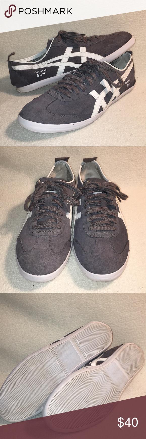 wholesale dealer eb736 43b79 Onitsuka tiger Mexico 66 sneaker sz 9.5 grey/white Onitsuka ...