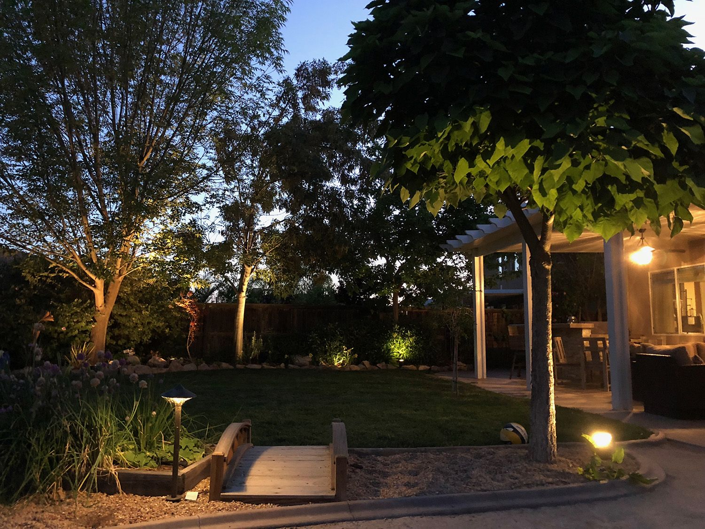 Low Voltage and LED Lighting Landscape construction, Low