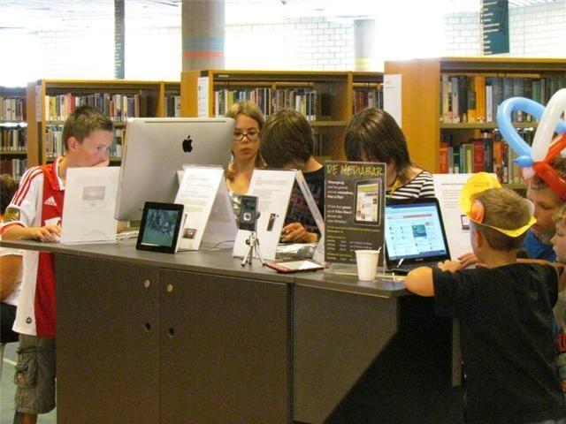 Mediabar in de bieb - Anna Paulowna - ook kopgroep bibliotheken