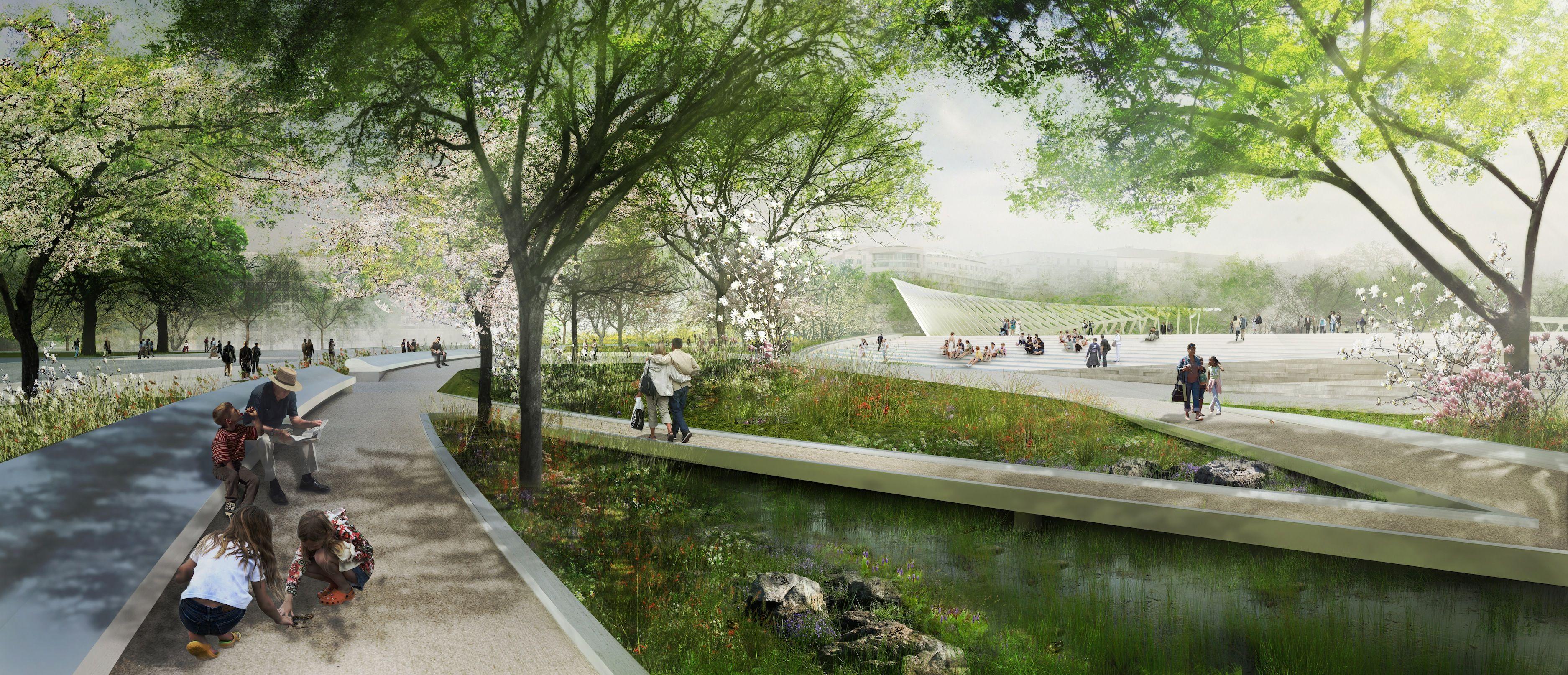 National Mall Competition, Snohetta + AECOM for Union Square ...