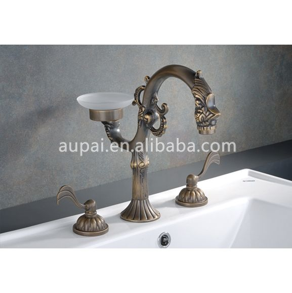 All Brass Old Fashioned Bathroom Faucets F 5003 Photo Detailed